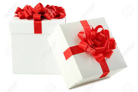 White boxes for gift packaging