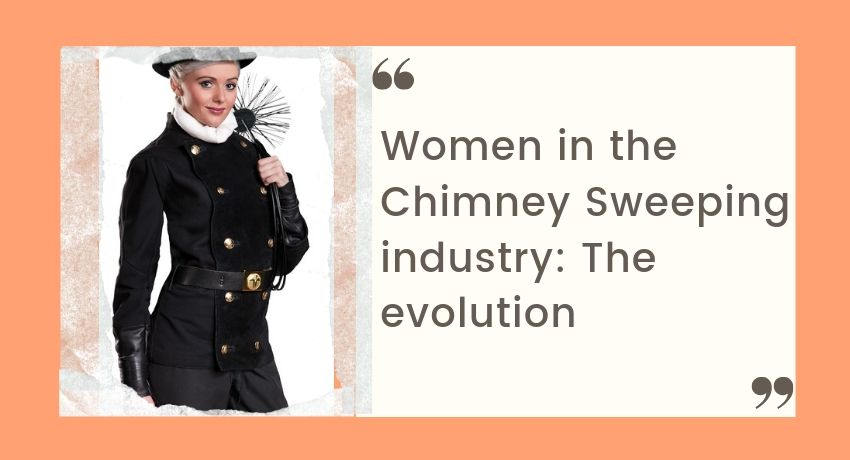 Women in the chimney sweeping industry