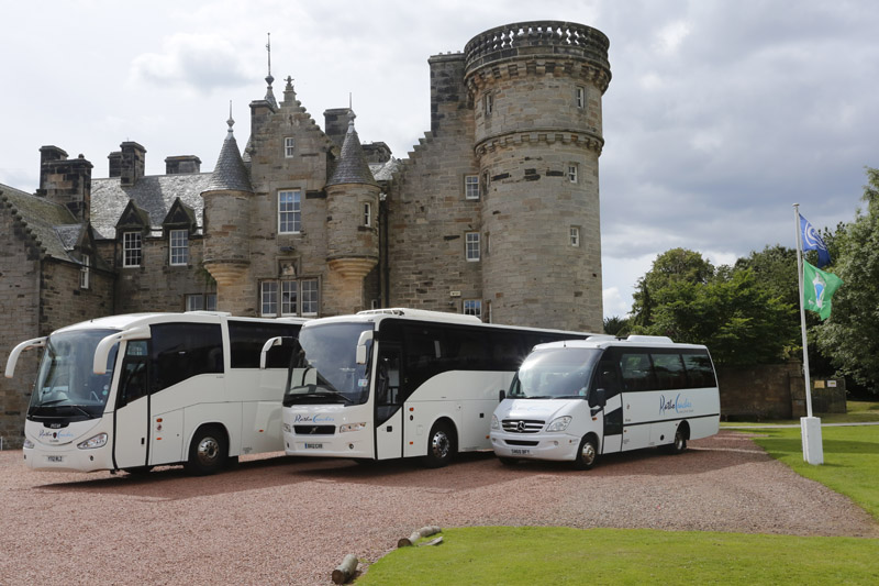 Professional Coach Hire Edinburgh With Driver