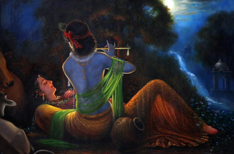Lord Krishna And His Beautiful Art in The World