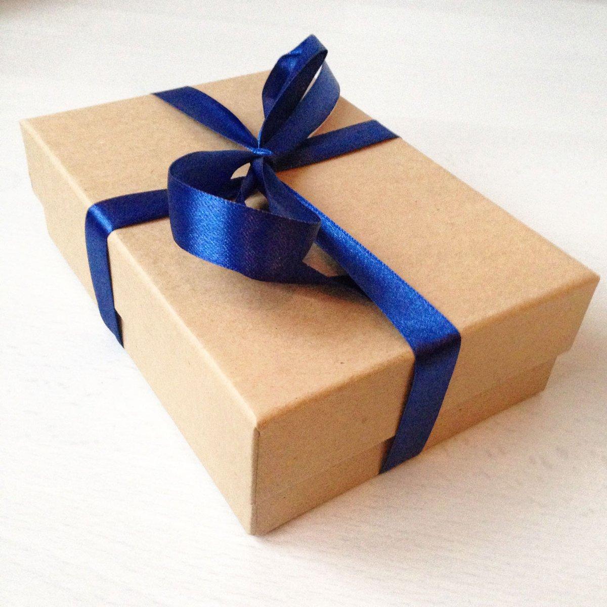Kraft gift boxes
