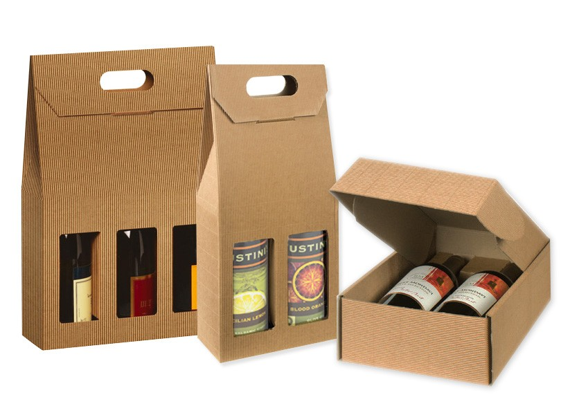 What are the different types of wine boxes you pick between?