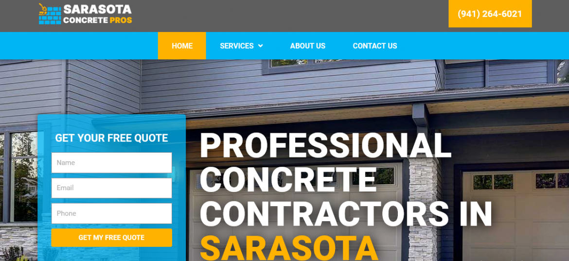 Why you Trust on Sarasota Concrete Contractors?