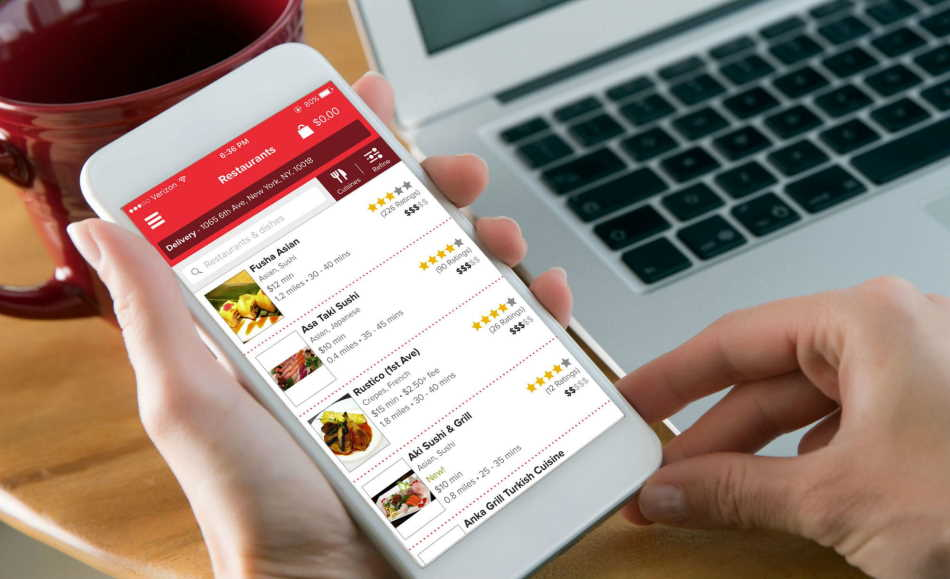 5 Great Benefits of Using a Food Delivery App Sydney