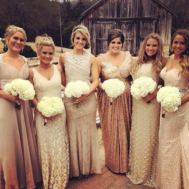 Best Bridesmaid Dress Colors for 2021 And Gold Bridesmaid Dres