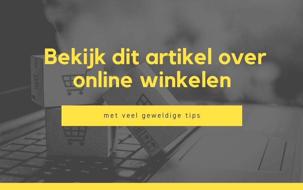 Bekijk dit artikel over online winkelen met veel geweldige tips
