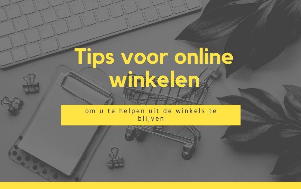 Tips voor online winkelen om u te helpen uit de winkels te blijven