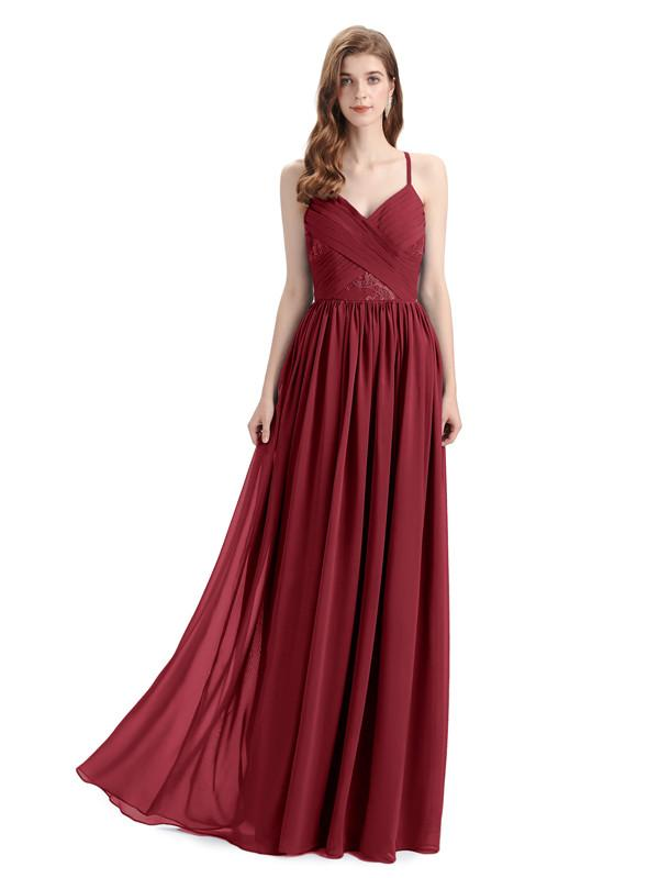 Flaunt These Burgundy Bridesmaid Dresses On Your Best Friend's D-Day