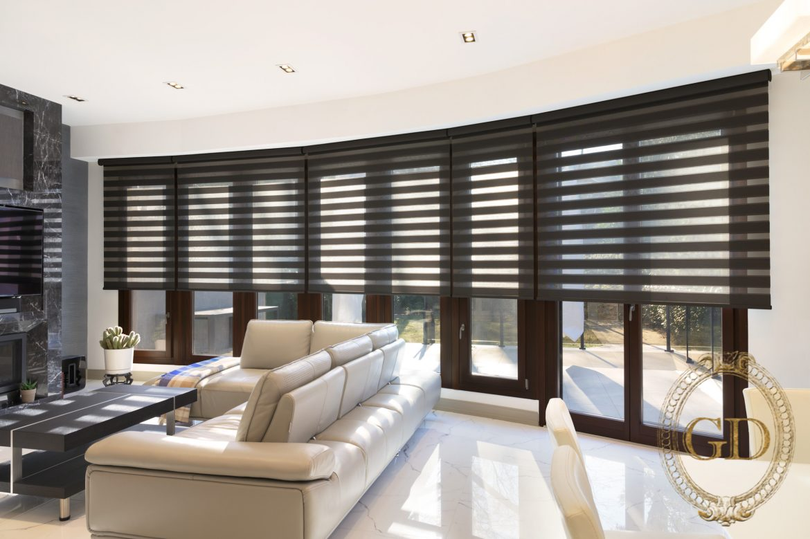 Create Trendy Fusion Style with Traditional Window Shades Combinations